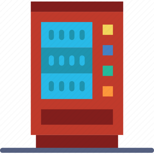 building, city, cityscape, machine, vending icon