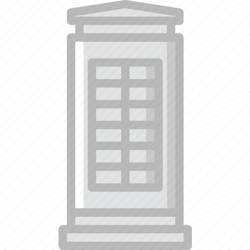 building, city, cityscape, phone, public icon