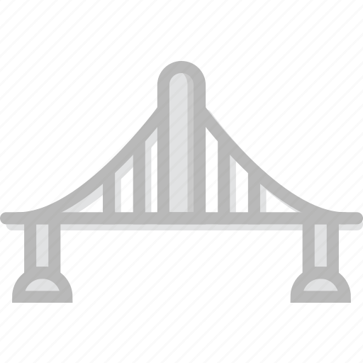 bridge, building, city, cityscape icon