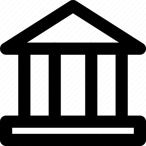 bank, building, city, cityscape icon