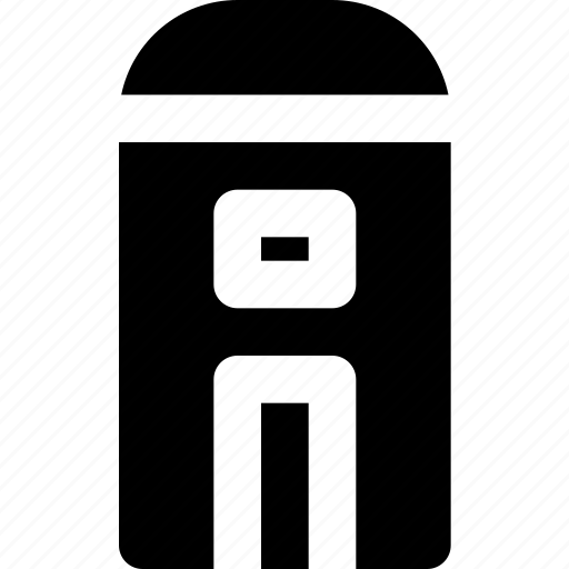 building, city, cityscape, public, toilet icon