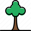building, city, cityscape, tree icon