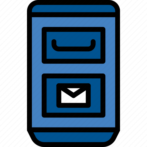 booth, building, city, cityscape, mail icon