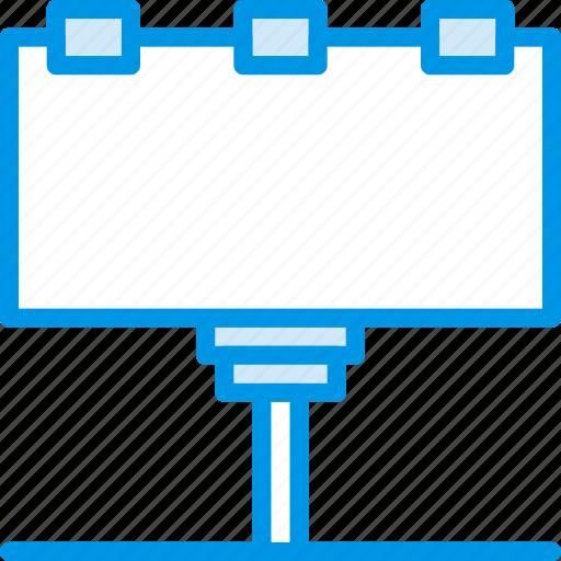 billboard, building, city, cityscape icon