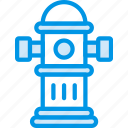 building, city, cityscape, hydrant icon