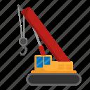 architecture, civil, construction, crane, engineer icon