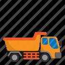 architecture, civil, construction, engineer, truck icon