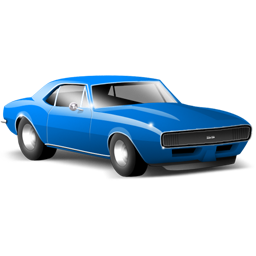 camaro, car, sports car icon