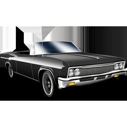 cabriolet, car icon