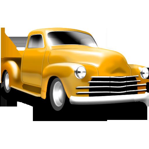 128, chevelot, yellow icon