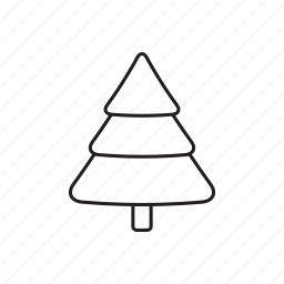 and, christmas, christmas tree, elements, pack, wbmte252, white icon
