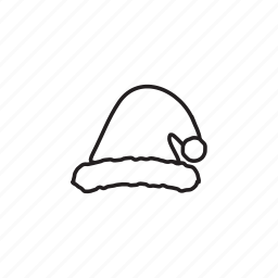 and, christmas, elements, pack, santa hat, wbmte252, white icon