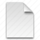 document, documents, file, page, paper icon