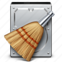 clean, data, database, disk, drive, hard drive, storage icon