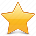 bookmark, favorite, favourite, like, star icon
