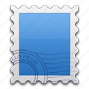 email, letter, mail, send, stamp icon