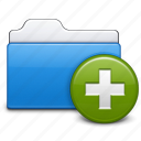 add, file, folder, new, open, plus icon