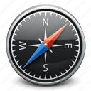 compass, direction, gps, location, map, navigation icon