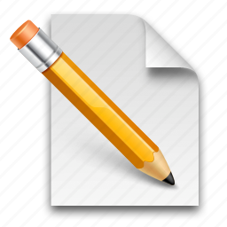 doc, document, documents, edit, file, page, paper, pencil, sheet, text, write icon