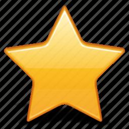 bookmark, favorite, favourite, like, star icon