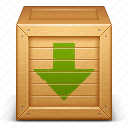 box, delivery, download, downloads, package, product, shipping icon