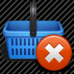 basket, baskett, business, buy, delete, ecommerce, online, remove item, sale, shop, shopping, shopping cart icon