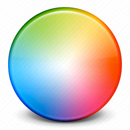 art, color, color picker, color wheel, graphic, paint, settings icon