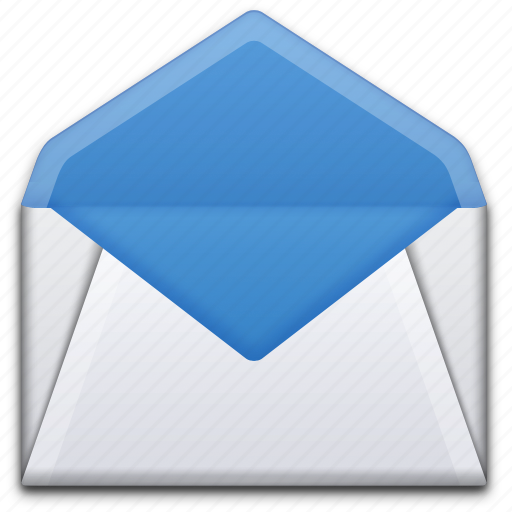 Email, envelope, letter, mail, message, open icon Open Envelope Icon
