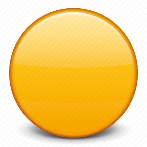flag yellow ball yellow circle icon
