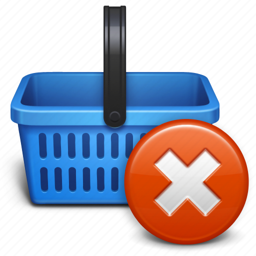 basket, baskett, business, buy, delete, ecommerce, online, remove item, sale, shop, shopping, shopping cart icon