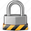 lock, locked, padlock, password, private, protect, protection, safe, safety, secure, security icon