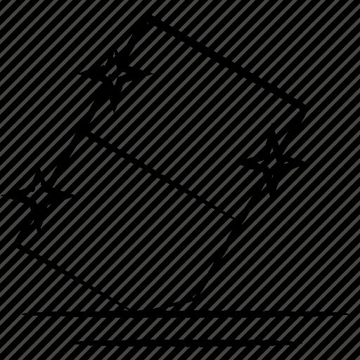 clean, delete, eraser, remove icon