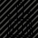 broom, brush, clean icon