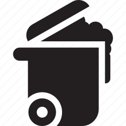 bin, cleaning, garbage, rubbish, trash icon