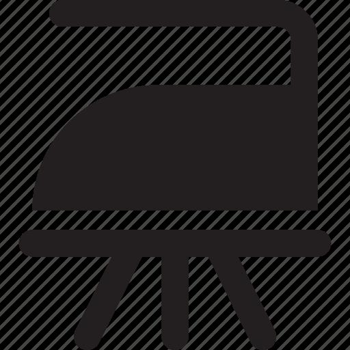 cloth, iron, steam icon