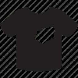 cloth, spot, t-shirt, wear icon