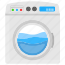 automatic machine, dryer, front loading, washer, washing machine icon