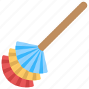 broom, domestic cleaning, dusting broom, furniture dusting, home cleaning icon
