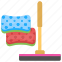 cleaning tools, deep cleaning, domestic cleaning, floor cleaning, kitchen cleaning icon