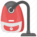 carpet cleaning, dust sucker, electronic dusting, home appliance, vacuum cleaner icon