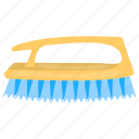 carpet brush, carpet cleaning, cleaning tool, coat brush, handheld brush icon