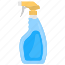 bottle sprayer, mist spray, plastic bottle, spray bottle, water spray icon