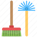 bathroom cleaning, bathroom service, bathroom tools, housekeeping, toilet cleaning icon