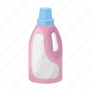 bottle, detergent, gel, whiteness icon