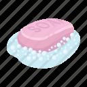 cleanser, foam, soap, toilet icon