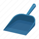 dustpan, scoop, tool, trash icon
