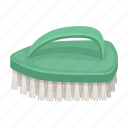 brush, cleaning, tool icon