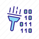 app, application, binary, cleaning, harmful, rocket icon