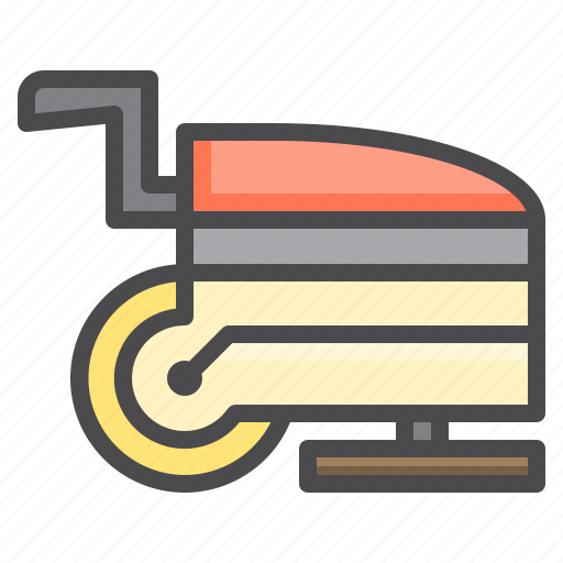 Cleaned, cleaning, eleaning, equipment, floor, machine icon - Download on Iconfinder