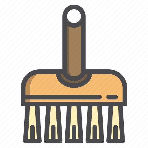 brush, cleaned, cleaning, equipment, scrud icon